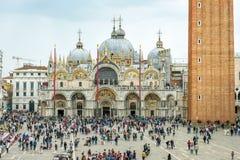 Basilica di圣Marco在威尼斯,意大利 库存照片