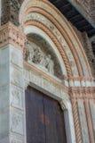 Basilica di圣Petronio -波尔塔优秀大学毕业生,在波隆纳,意大利 库存照片