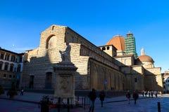 basilica di洛伦佐・圣 免版税库存图片