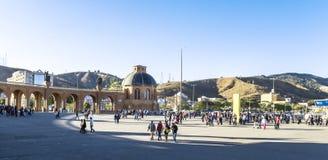 Basilica di Aparecida - santuario nazionale fotografie stock libere da diritti