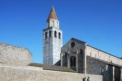 Basilica di Aquileia immagini stock