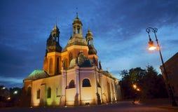 Basilica di Archicathedral della st Peter e della st Paul Immagine Stock