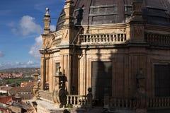 Basilica di Clerecia della La, Salamanca Fotografia Stock