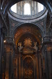 Basilica di Estrela a Lisbona, Portogallo immagini stock
