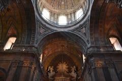 Basilica di Estrela a Lisbona, Portogallo fotografie stock libere da diritti