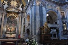 Basilica di Estrela a Lisbona, Portogallo fotografia stock