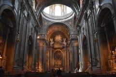 Basilica di Estrela a Lisbona, Portogallo immagine stock libera da diritti
