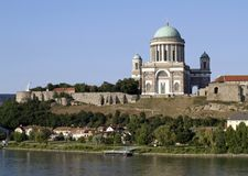 Basilica di Esztergom Fotografia Stock Libera da Diritti