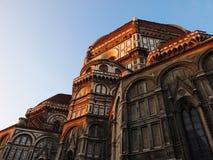 basilica di fiore佛罗伦萨意大利玛丽亚・圣诞老人 库存照片