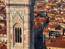 basilica di fiore佛罗伦萨意大利玛丽亚・圣诞老人 库存图片