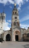 Basilica di Fourvière, Lione Fotografie Stock