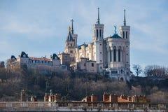 Basilica di Lione Fotografia Stock