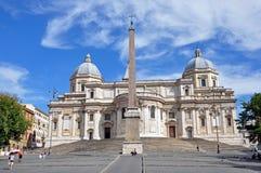 basilica di maggiore maria santa Royaltyfri Fotografi
