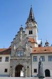 Basilica di Marija Bistrica immagini stock libere da diritti