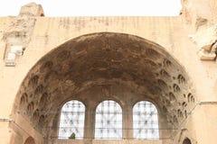 Basilica di Massenzio Lizenzfreie Stockfotos