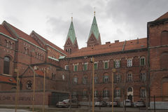 Basilica di nostra madre di pietà a Maribor Immagine Stock Libera da Diritti