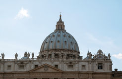 Basilica di Peters del san Fotografie Stock Libere da Diritti