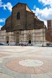 basilica di petronio san Arkivbild