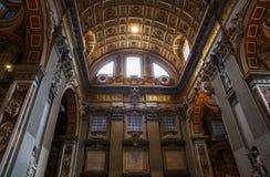 basilica di pietro ・圣・梵蒂冈 免版税库存图片