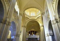 Basilica di Pinu di tum, isola di Gozo Fotografie Stock