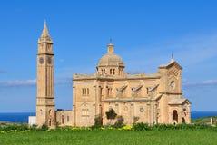 Basilica di Pinu di tum, isola Gozo, Malta Immagine Stock
