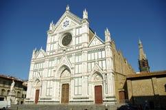 Basilica di S. Croce, Florenz stockfotos