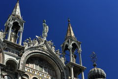 Basilica di S. Marco, Piazza S. Marco,  Old Buildings, Venice, Venezia, Italy Royalty Free Stock Photo