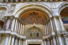 Basilica di S. Marko, Old Buildings, Venice, Venezia, Italy Royalty Free Stock Photos