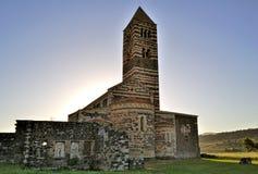 Basilica di Saccargia Imagen de archivo libre de regalías