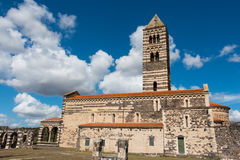 Basilica di Saccargia Fotos de archivo libres de regalías