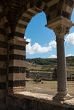 Basilica di Saccargia Imagenes de archivo