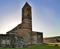 Basilica di Saccargia, Sardegna - Italia Imagen de archivo libre de regalías