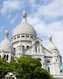 Basilica di Sacrè-Coeur Parigi fotografie stock libere da diritti