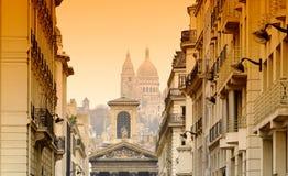 Basilica di Sacré-Coeur a Parigi Immagine Stock Libera da Diritti