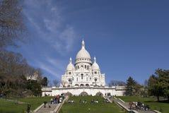 Basilica di Sacre Coeur Immagini Stock