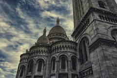 Basilica di Sacre Coeur in Montmartre Parigi Fotografie Stock