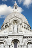 Basilica di Sacre Coeur a Parigi Immagini Stock