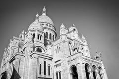 Basilica di Sacre-coeur su Montmartre, Parigi Francia Immagine Stock