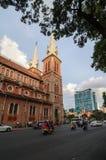 Basilica di Saigon Notre-Dame Immagini Stock