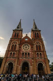 Basilica di Saigon Notre-Dame Fotografie Stock