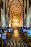 Basilica di Saigon Notre-Dame Immagini Stock Libere da Diritti