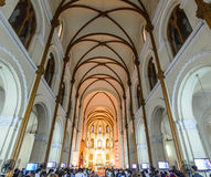 Basilica di Saigon Notre-Dame Fotografia Stock Libera da Diritti