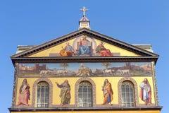 Basilica di Saint Paul Fotografie Stock Libere da Diritti