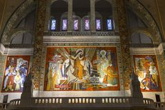 Basilica di Sainte-Therese, Lisieux, Francia Fotografie Stock