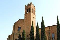 Basilica di San Domenico à Sienne, Italie Photos stock