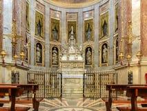 Basilica di San Domenico - la cappella di StDominic a Bologna Immagine Stock