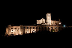 Basilica di San Francesco - Assisi Royalty Free Stock Photo