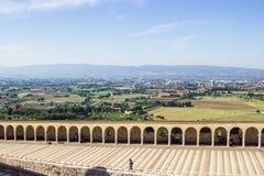 Basilica di San Francesco in Assisi, Italien Lizenzfreie Stockfotos