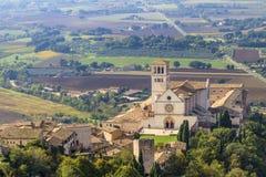 Basilica di San Francesco, Assisi, Italy Royalty Free Stock Photo