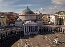 Basilica di San Francesco di Paola Stock Images